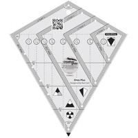 Kites Plus Quilt Ruler - Creative Grids
