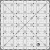 Itty-Bitty Eights Square Ruler XL 15in, Creative Grids