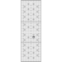 Itty-Bitty Eights Rectangle Ruler XL (8in x 24in), Creative Grids