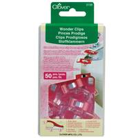 Wonder Clips, Red (50 pk)