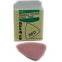 Clover Triangle Tailor's Chalk, Red