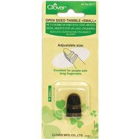 Open Sided Thimble, (Small),  Clover