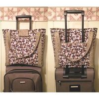 Luggage Rider Carry-on Bag Pattern - Cut Loose Press
