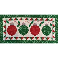 Happy Noel Table Runner Pattern