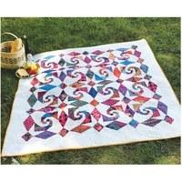 Snails Trail Al Freso Quilt Pattern - Cut Loose Press
