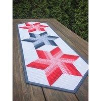 Twirl N Spin Table Runner Pattern - Cut Loose Press