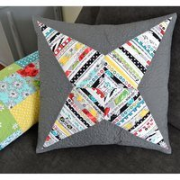 Selvage Star Pillow Pattern