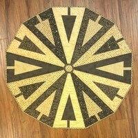Triangle Tree Skirt Pattern