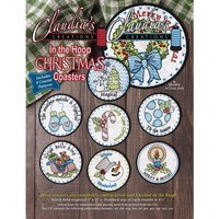 In-the-Hoop Christmas Coasters Embroidery CD
