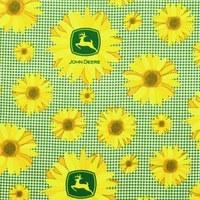 John Deere Sunflowers, Springs Creative Fabric