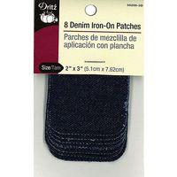 Dritz Denim Iron-On Patch (8ct)