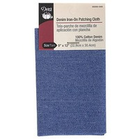 Iron-On Patch Cloth - Denim Faded Blue, 9in x 12in, Dritz #D55260-59D