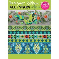 Tula Pink, All-Stars Agave Pack, Renaissance Ribbons