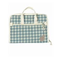Zippered Notions Bag, BlueFig