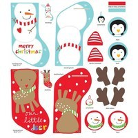 Studio E, Huggable & Loveable, Christmas Fabric Panel