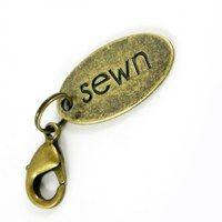 """Zipper Pull """"Sewn"""""""