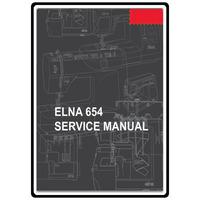 Service Manual, Elna 654