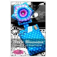 Hexie Blossomz Pincushion & Thread  Catcher Pattern