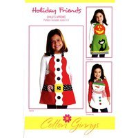 Holiday Friends Apron Pattern