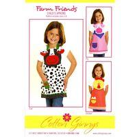 Farm Friends Children's Apron Pattern
