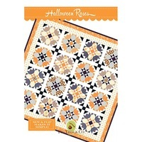 Halloween Roses Quilt Pattern