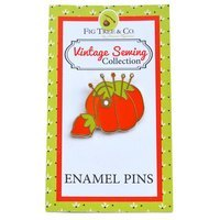 Tomato Pin Cushion Enamel Pin
