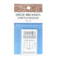 Stretch Needles, Groz-Beckert, 130/705H (5pk) 75/11