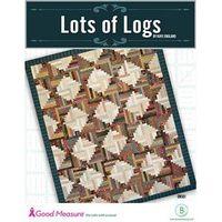 Lots of Logs Quilt Pattern - Good Measure