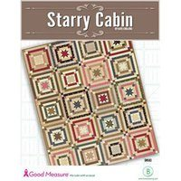 Starry Cabin Quilt Pattern - Good Measure