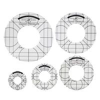 Good Measure Circle Ruler Templates - 5pc