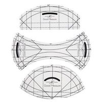 Good Measure, Curve Ruler Templates - 3 Piece