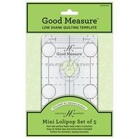 Good Measure Mini Lollipop Ruler 5pc