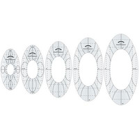 Good Measure, Oval Quilting Ruler Set