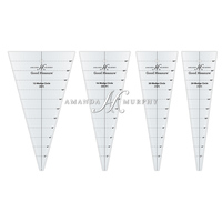 Good Measure Wedge Circle Rulers