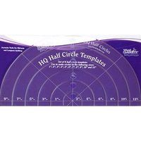 Half Circle Ruler Set, HandiQuilter