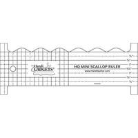 Mini Scallop Ruler