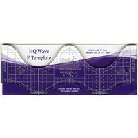 HQ Wave F Template Ruler