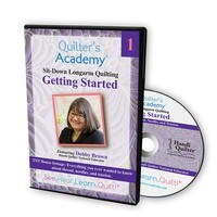 Quilters Academy: Longarm Quilting, Getting Started DVD
