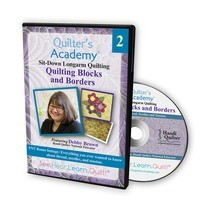 Quilters Academy: Longarm Quilting, Block and Borders DVD