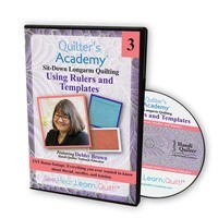Quilters Academy: Longarm Quilting, Rulers and Templates DVD