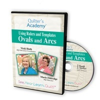 Quilters Academy: Ovals and Arcs DVD
