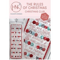 The Rules Of Christmas Wall Hanging Pattern