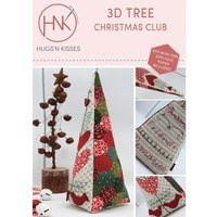 3D Christmas Tree Pattern
