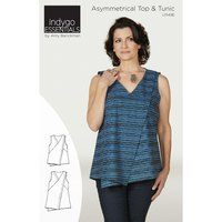 Asymmetrical Top & Tunic Pattern, Indygo Junction