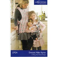 Dressed Alike Apron Pattern, Indygo Junction