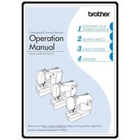 Instruction Manual, Brother CP-7500