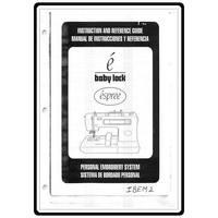 Instruction Manual, Babylock EM2 Espree
