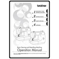 Instruction Manual, Brother LS-2125i