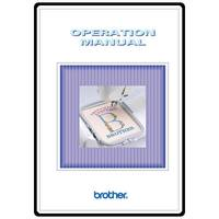 Instruction Manual, Brother PC-8500