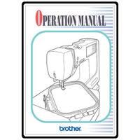 Instruction Manual, Brother PE-400D